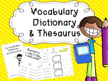 Student Vocabulary Dictionary and Thesaurus