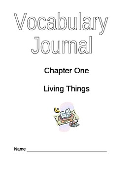 Student Vocabulary Journal 1
