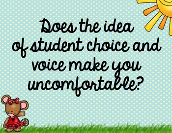 Student Voice, Student Choice