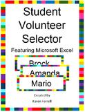 Student Volunteer Selector (Microsoft Excel)
