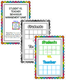 Student Vs. Teacher Behaviour Management Game