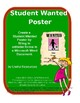 Student Wanted Poster Using Fill-in Forms