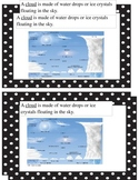 Student Weather Booklet