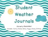 Student Weather Journals