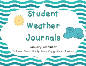 Student Weather Journals