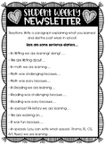 Student Weekly Newsletter!