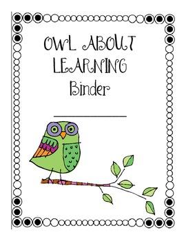 Student Weekly Progress Binder