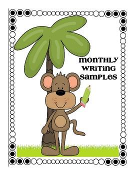 Student Weekly Progress Binder Jungle-Theme