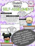 Student Weekly Self-Assessment