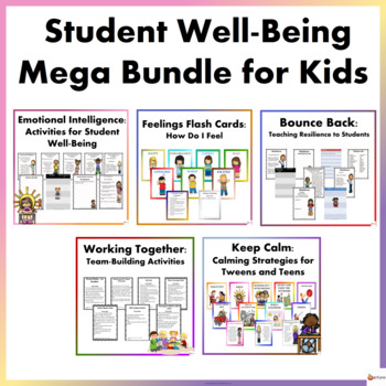 Student Well-Being For Kids Mega Bundle