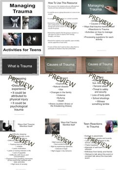 Student Well- Being Resources for Teens Mega Bundle