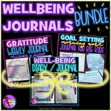 Social Emotional Learning Student Wellbeing Journals - Bundle