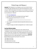 Student Wikispace Assignment