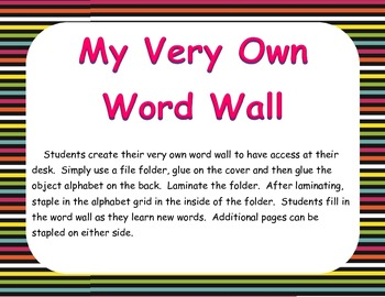 Student Word Wall