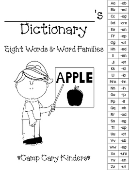 Student Word & Word Families Dictionary