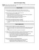 Student Work Analysis Protocol