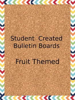 Student Work Bulletin Boards