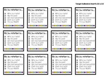 Student Work Checklist FREEBIE