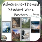 Student Work Coming Soon Posters