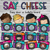 Student Work Display - Say Cheese