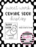 """Student Work Display: """"Sweet Work Coming Soon"""" with Pineapple"""