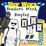Student Work Display with Banner (Star Wars Inspired)