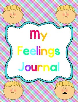Student Writing Book: My Feelings Journal
