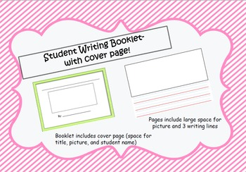 Student Writing Booklet