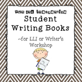 Student Writing Journals for Writing About Reading
