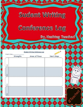 Student Writing Conference Log Template