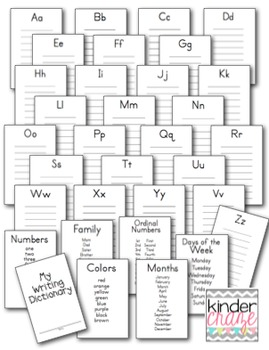 Student Writing Dictionary for Early Elementary