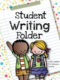 Student Writing Folder | Writing Reference Guide for Students