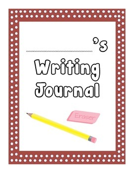 Student Writing Journal- Common Core aligned, 110 prompts!