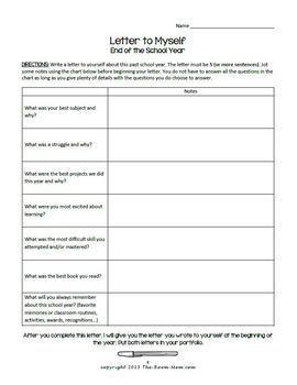 Student Writing Portfolio (freebie)
