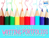 Student Writing Portfolio EDITABLE