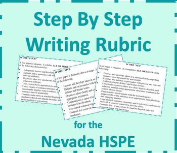 Student Writing Reflection based on the Nevada HSPE