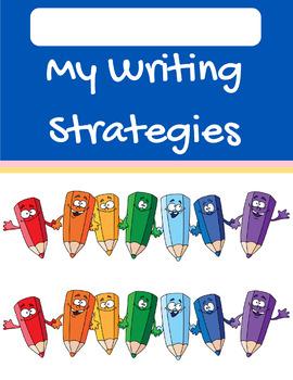 Student Writing Strategies Folders