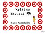 Writing Goals / Targets 1