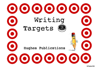 Student Writing Targets / Goals 3