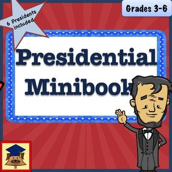 Student Written Minibooks- U.S. Presidents