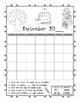 Student Yearly Calendar Workbook First through Third Grade