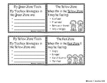 Student Zones Strategies Mini Booklet