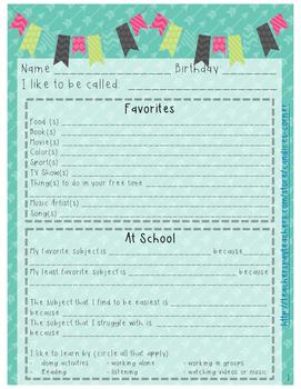 Student and Family Surveys [FREEBIE]