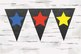 Student and Stars Chalkboard Banner Classroom decoration