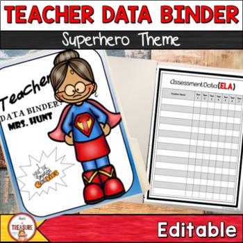 Student and Teacher Data Binder Bundle (Editable)