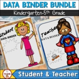 Student and Teacher Data Binder Bundle (Editable)