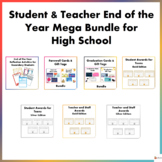 Student and Teacher End of the Year Mega Bundle for High School