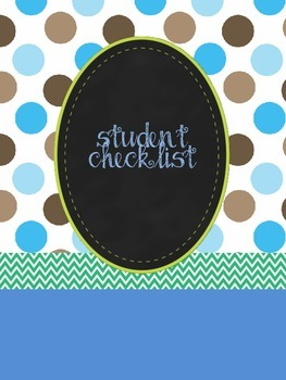 Student and assignments checklist