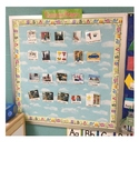 Student classroom jobs chart pictures using real kids/objects