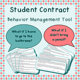 Student contract - behavior, rules, expectations